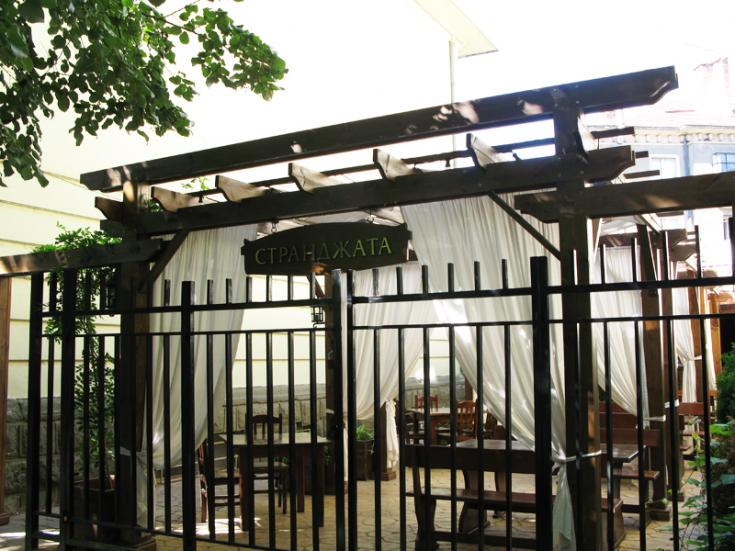 Rectangular pergolas