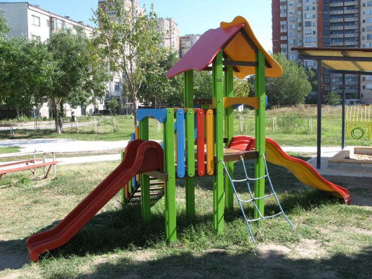 Product photo: Combined children play facility, Д04-2 model