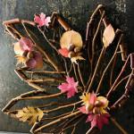 Декорация есенно листо
