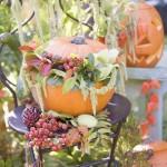 Декорация за градина с тиква