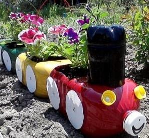 Train pot