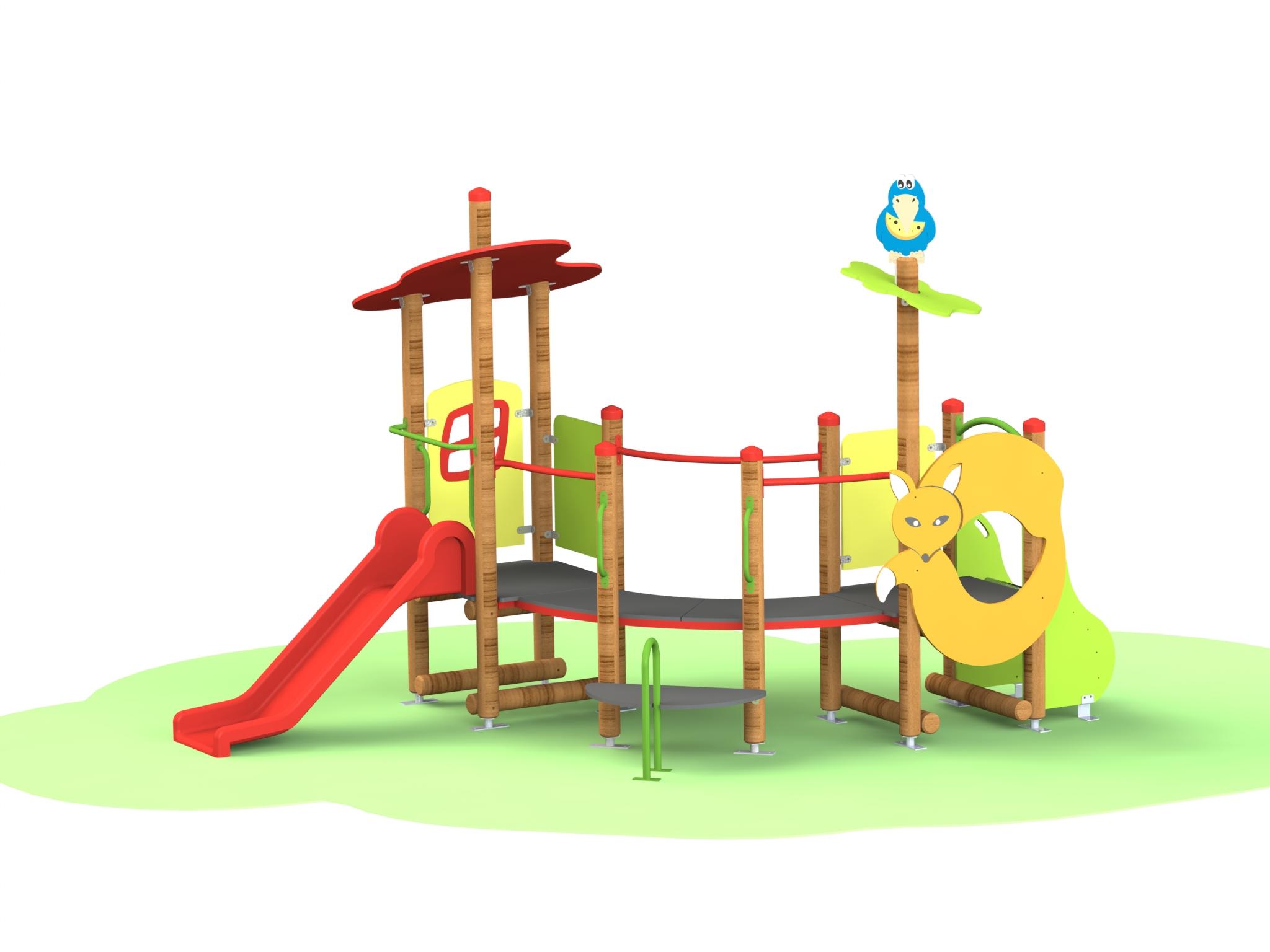 Снимка на продукта: Комбинирано детско съоръжение, модел Г24