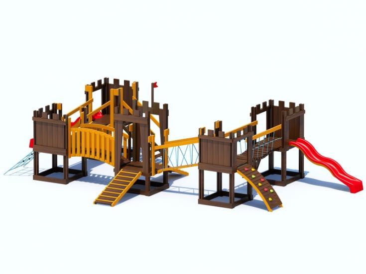 Снимка на продукта: Комбинирано детско съоръжение, модел Т07