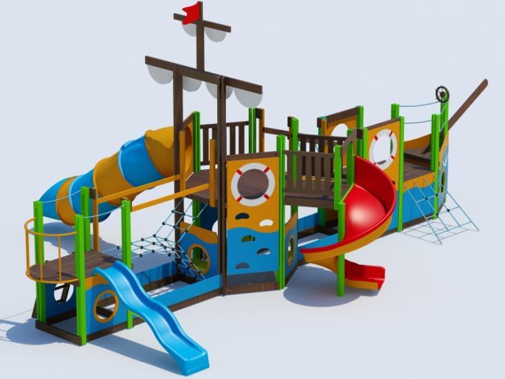 Снимка на продукта: Комбинирано детско съоръжение, модел Т18