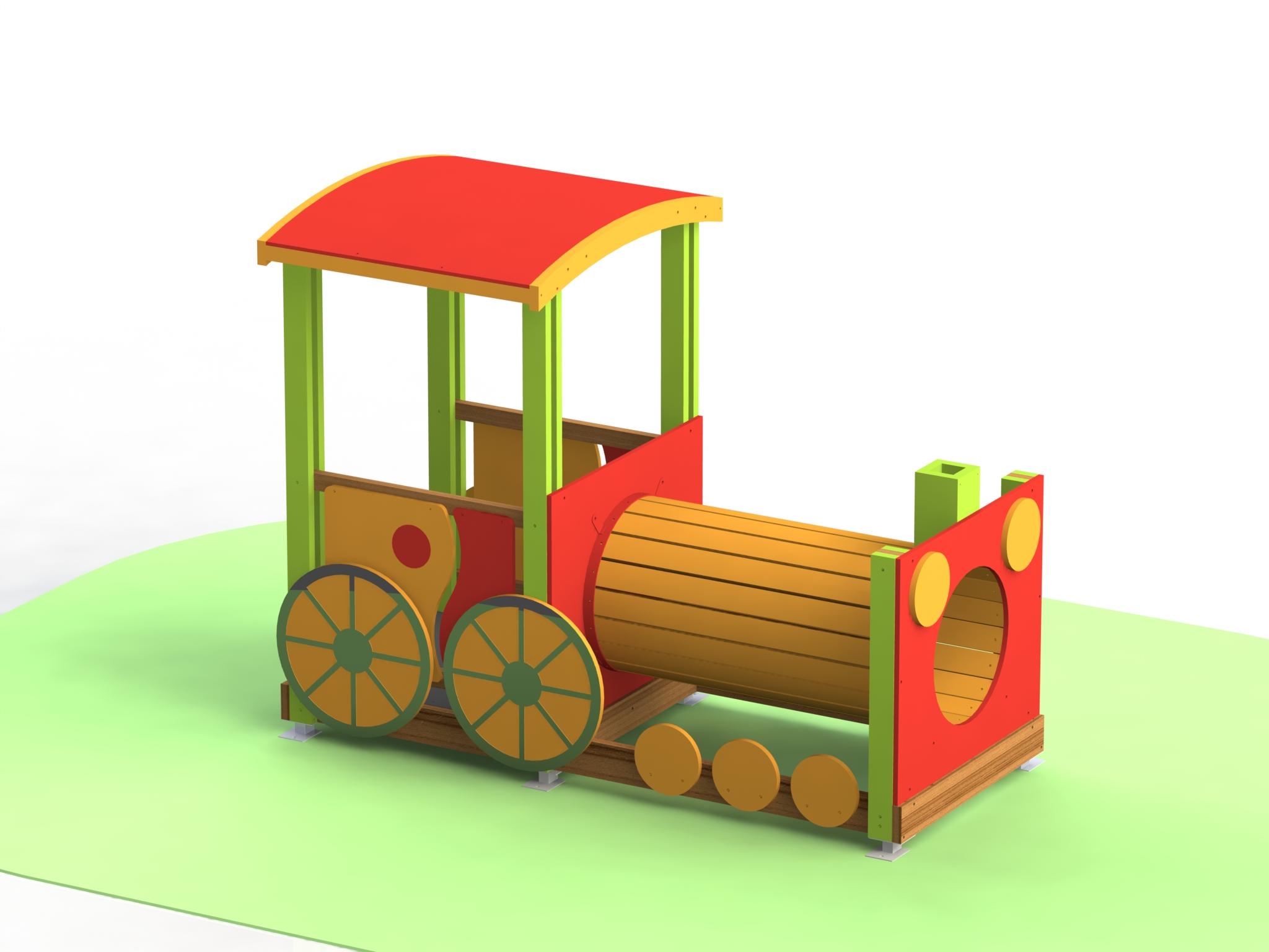 Снимка на продукта: Комбинирано детско съоръжение, модел Т10