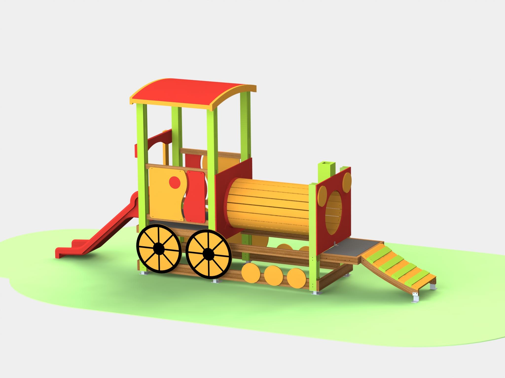 Снимка на продукта: Комбинирано детско съоръжение, модел Т11