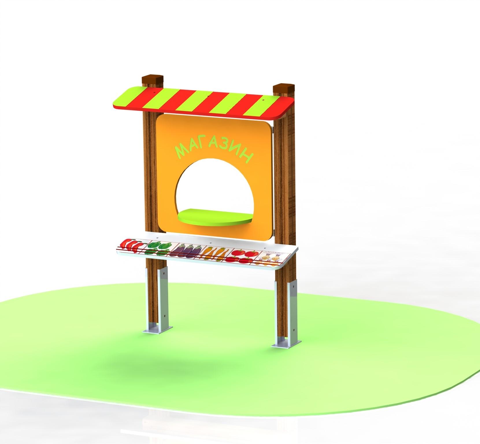 "Снимка на продукта: Занимателна игра ""Магазин"", модел ИГ2-2"
