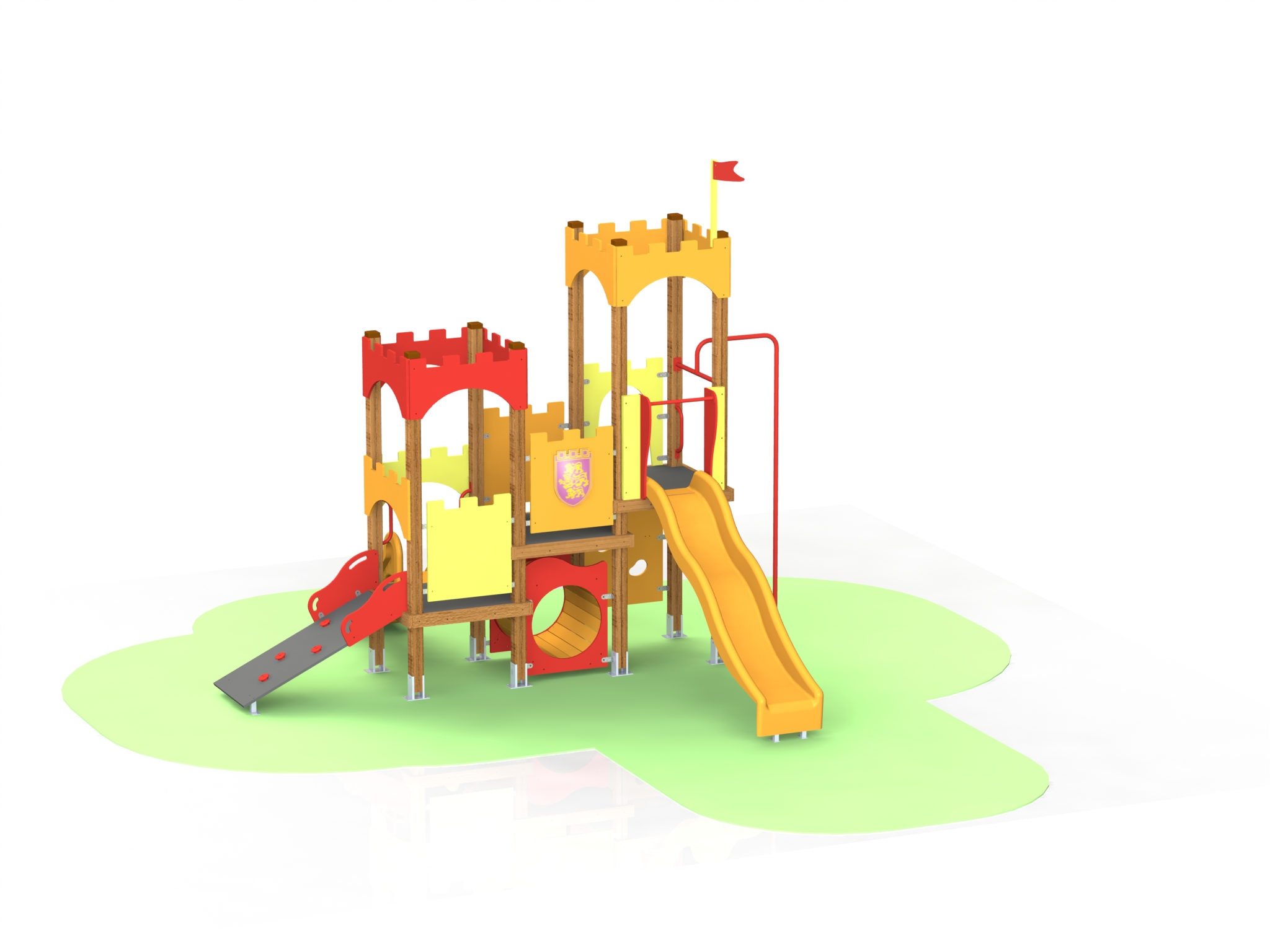 Снимка на продукта: Комбинирано детско съоръжение, модел КД72