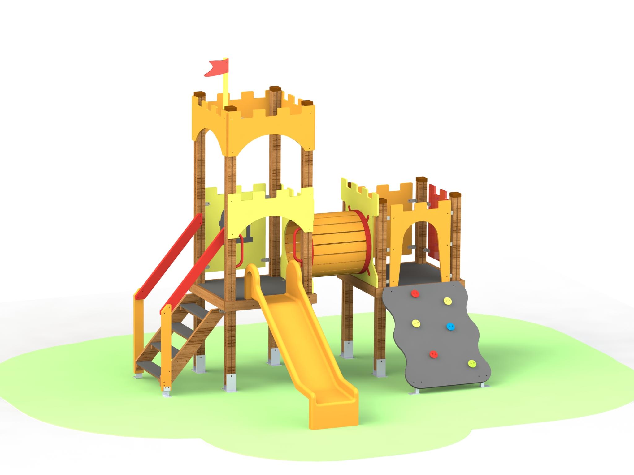 Снимка на продукта: Комбинирано детско съоръжение, модел КД73