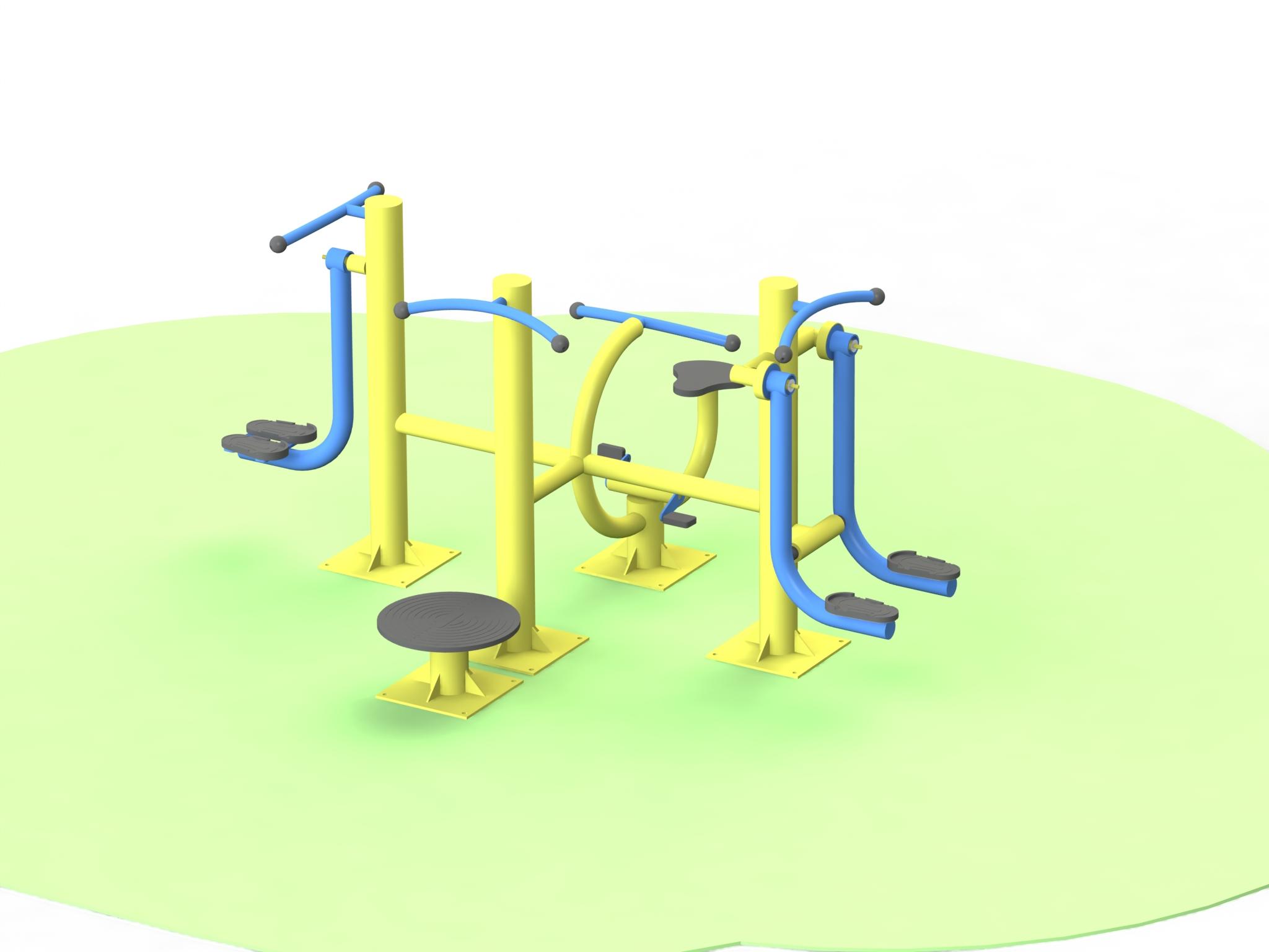 Снимка на продукта: Детски комбиниран фитнес уред, модел ФМД29