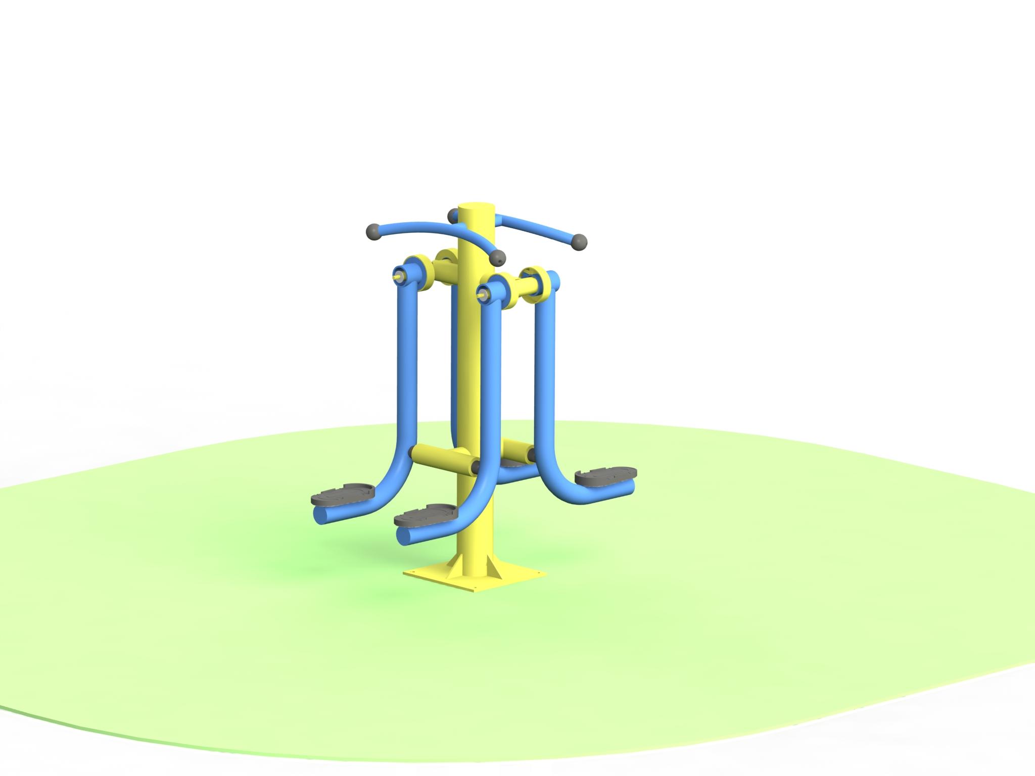 Снимка на продукта: Двоен тренажор за крака, модел ФМД40